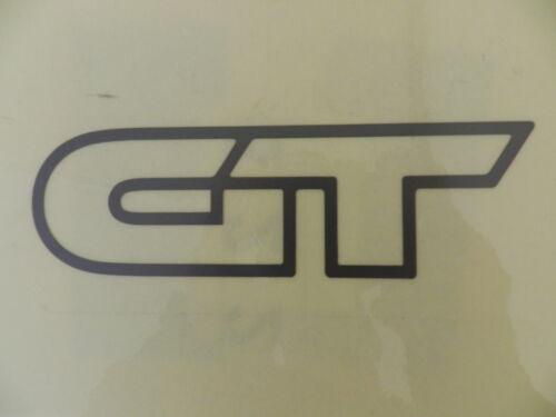 2 x  Schriftzug Emblem GT grau Vectra A ORIGINAL OPEL 171303