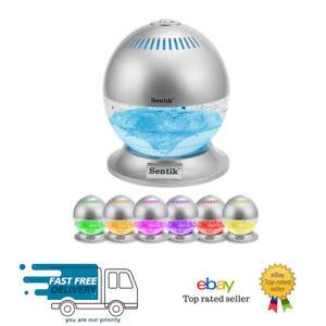 SENTIK ® Globe ARIA DEPURATORE DELL'ARIA Revitaliser e Ionizzatore con colori cangianti LED