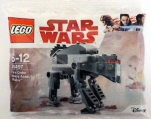 Genuine-Lego-Star-Wars-First-Order-Heavy-Assault-Walker-Polybag-30497-new-sealed