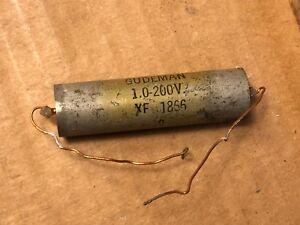 1-Vintage-Gudeman-1-0-uf-200v-PIO-Capacitor-Vitamin-Q-Oil-Tone-Cap-XF-1866