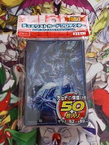 Yu-gi-oh-50-protege-carte-sleeve-magicien-sombre-vs-dragon-blanc-aux-yeux-bleus