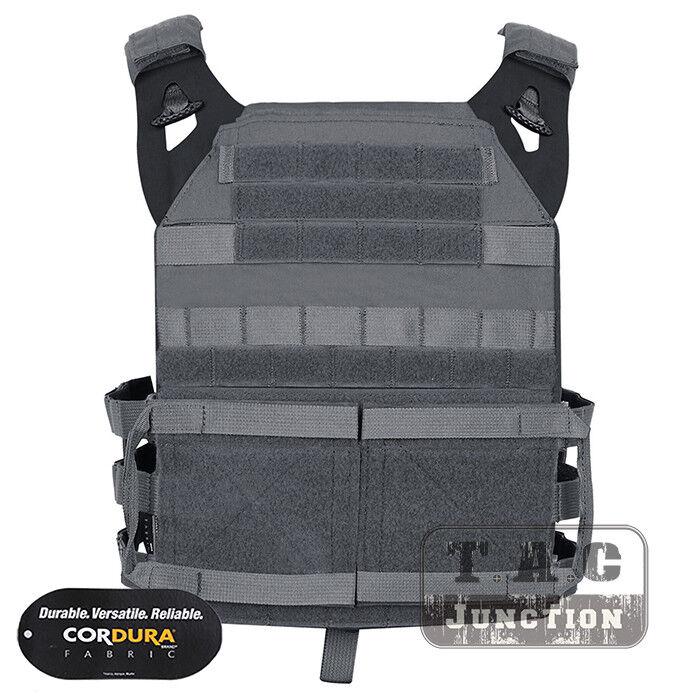 Emerson Tactical Jumpable JPC 2.0 2.0 2.0 ligero Chaleco Portador de Placa cuerpo armadura 06768b