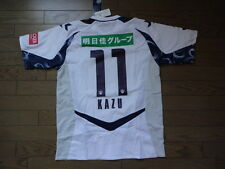 Yokohama FC #11 Kazu 100% Official Jersey Shirt L BNWT 2011 Rare Japan J-League