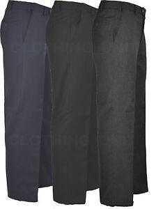 Homme-Extensible-Expand-A-Bande-Thermique-Auto-Reglage-Taille-Elastique-Pantalon-32-46