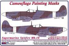 AML Models 1/72 CAMOUFLAGE PAINT MASKS SUPERMARINE SPITFIRE Mk.IX Fighter