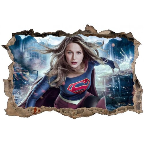Stickers 3D Supergirl réf 52473 52473
