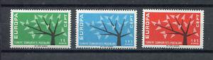 24103) Dealer Stock Turkey 1962 MNH Europa 3v (X10 Sets)
