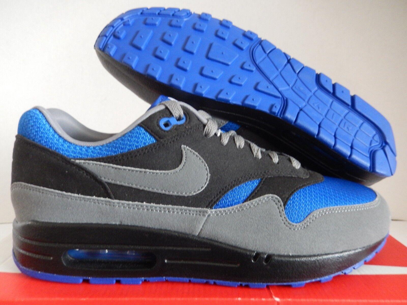 NIKE AIR MAX 1 ID TOE GREY-BLACK-BLUE SZ 10 MESH TOE ID [943756-972] 59d875