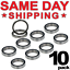 MR115-2RS Premium Rubber Sealed Ball Bearing 5x11x4 mm 10 QTY MR115rs