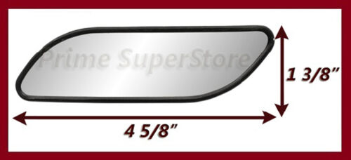 AUXILIARY BLIND SPOT WIDE VIEW MIRROR X SMALL SIDE REARVIEW CAR RV VAN /& TRUCK 2