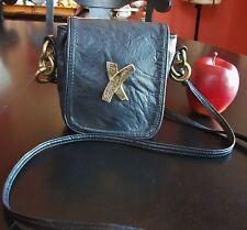 Paloma Picasso Italian Glove Leather Crossbody Shoulder bag Purse
