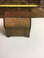 Dollhouse Miniature Older Vintage Secretary Desk