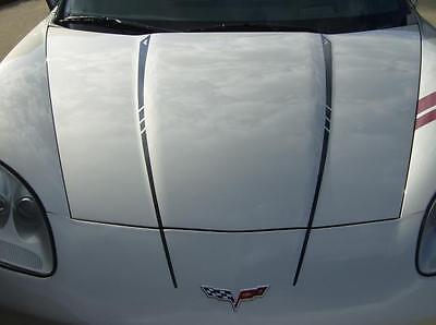2005-13 C6 Corvette Hood Decal Stripes /& Graphics
