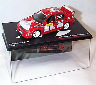 Mitsubishi Lancer Evo V1 MonteCarlo 1999 Tommi Makinen Ixo Eaglemoss new in case