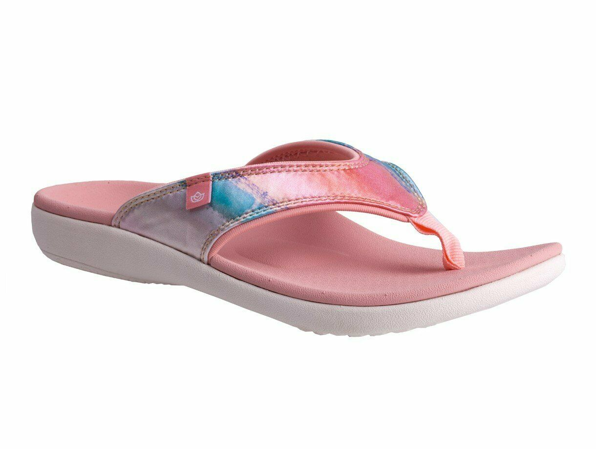 Spenco Yumi Monet Women's Orthotic Sandal Cotton Candy - 8 Wide