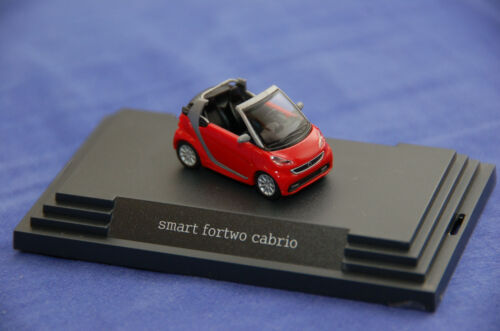 Busch smart A451 fortwo cabrio in ralleyrot PC