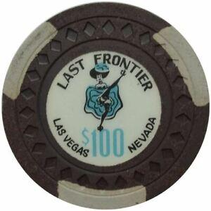 Frontier Last Casino Las Vegas NV $1 Chip 1962