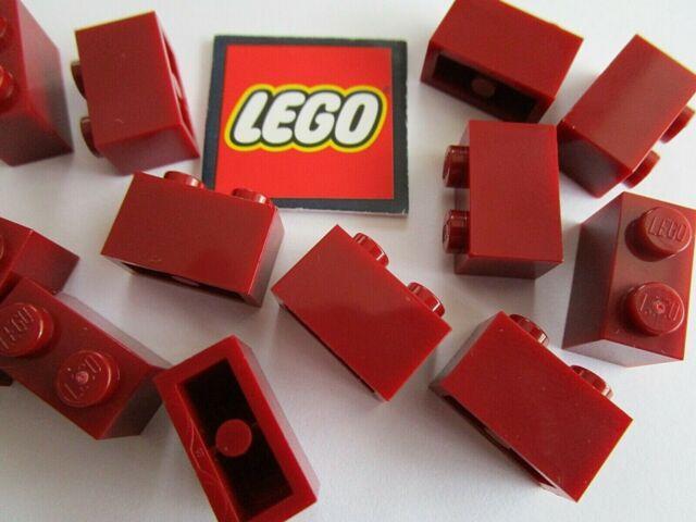 2 x Lego dark red brick – 4539102 Parts /& Pieces size 1x2