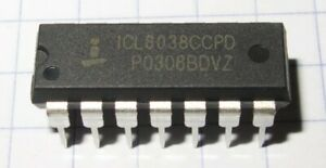 ICL8038-Precision-Waveform-Generator-Voltage-Controlled-Oscillator-IC