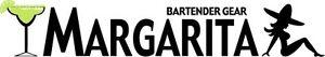 MARGARITA-BAR-Cocktail-Mens-Grey-Tee-T-Shirt-Barware-Wear-Uniform-Logo-Recipe