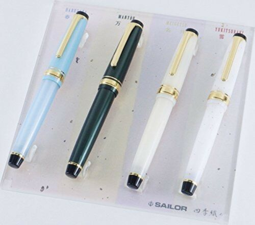 SAILOR Fountain Pen Professional Gear  Four Season MF 11-1224-302  Manyo
