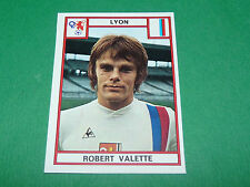VALETTE OLYMPIQUE LYON OL GERLAND RECUPERATION PANINI FOOTBALL 76 1975-1976