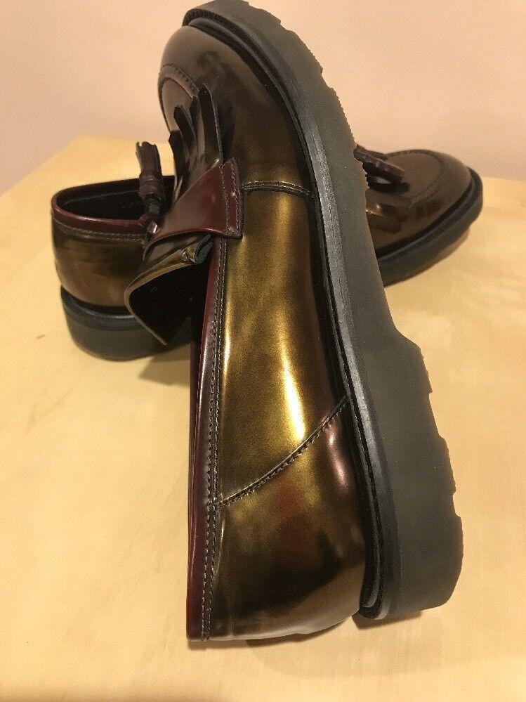 PAUL SMITH Women's Metallic KILTIE shoes , Size Size Size 39.5 , New f6ae19