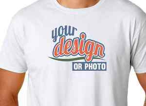 Custom Full Color T Shirt Printing Print Small Thru 4xl