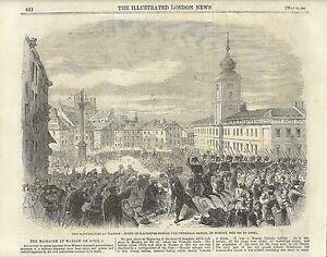 Antique-engraving-Warsaw-Uprising-1861