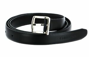 Calvin Klein Archive Square Buckle Belt W90 Gürtel CK Black Schwarz