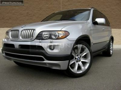 BMW E53 X5 4.8IS Style Front Bumper Spoiler Addon Tuning Valance Apron Lip