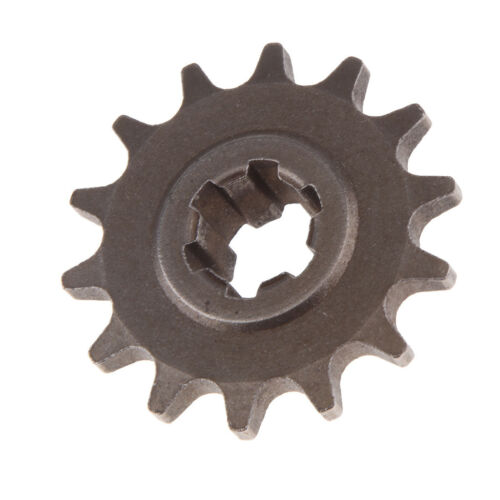 14 Tooth Front Sprocket Pinion Gear for 49cc 2 Stroke Mini Dirt Pocket Bike