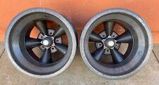 American Racing Magnesium 16 X 11 Torque Torq Thrust Wheels Gasser Hot Rat Rod