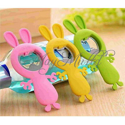 Brand New Lovely Funny Naughty Nice Rabbit Bunny Silicone Bottle Opener Good