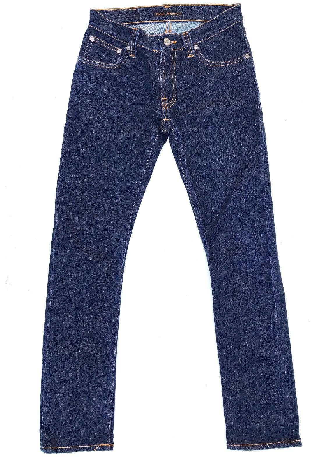 Nudie Jeans 'SUPER SLIM KIM' Dry Stretch bluee Jeans W28 L32 EUC RRP  Womens