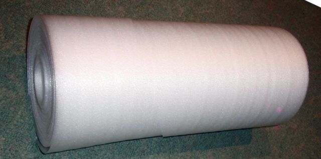 FOAM ROLL 8 MM  EXTRA EXTRA THICK 20 M LONG  ULTIMATE PROTECTION FREE SHIPPING