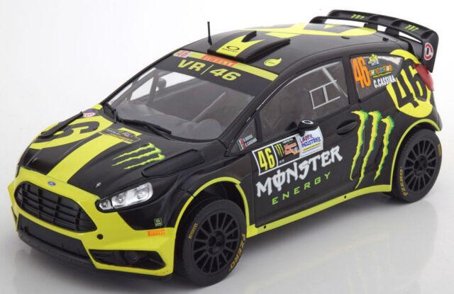 IXO MODELS  FORD FIESTA RS WRC # 46 MONZA RALLY 2014