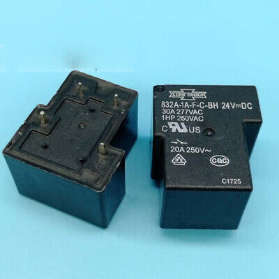 2pcs new  Matsukawa Relay 832-1A-C 24VDC