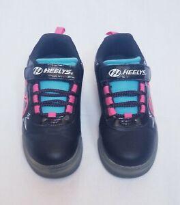 Heelys-Pow-X2-Lighted-Kids-Roller-Skates-Shoe-Sneaker-sz-2M-US-Little-Kid
