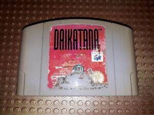 Nintendo 64 juego módulo Daikatana n64