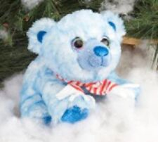 Polar Orso con sciarpa blu 30 cm Sweet & Sassy Pupazzo Wild Republic 16173