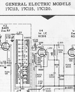 Ge Tv Schematic | Wiring Diagram Ge Tv Schematic Diagrams on