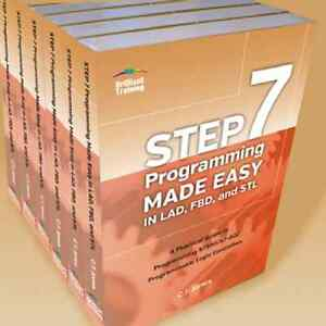 Details about Siemens S7/STEP7 PLC Book: Case of 10 - STEP 7 Programming  Made Easy, C T  Jones