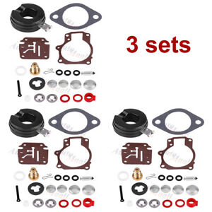 3-Carburetor-Rebuild-Repair-Kit-For-OMC-Johnson-Evinrude-0392061-0396701-0398729