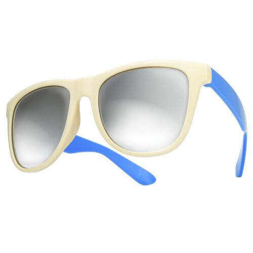 Women Ladies Men Sunglasses Mirrored Lens Casual Mirror Glasses Holiday Party LA