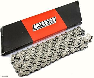 FSA Team Issue CN-1102N 11-Speed Bike Chain 116-Links fits SRAM Shimano Road//MTB