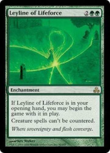 Leyline of Lifeforce NM MTG Guildpact Magic 2B3