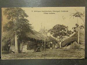 cpa-afrique-occidentale-senegal-dakar-village-indigene-animee