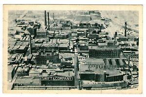 United-States-Old-Postcard-034-Swift-amp-Company-034-Chicago-Plant-Unused
