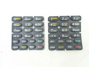 2X Keypad Keyboard Dual Band Grey For Startac ST7868W ST7868 Timeport Tdma
